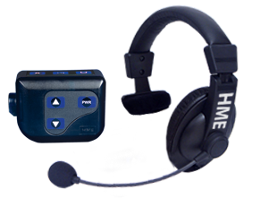HME Football Coach Headset System with Beltpac