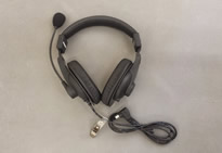 HS15D Double Muff Headset